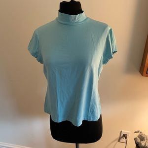 Tops - High neck baby blue lily pulitzer top!